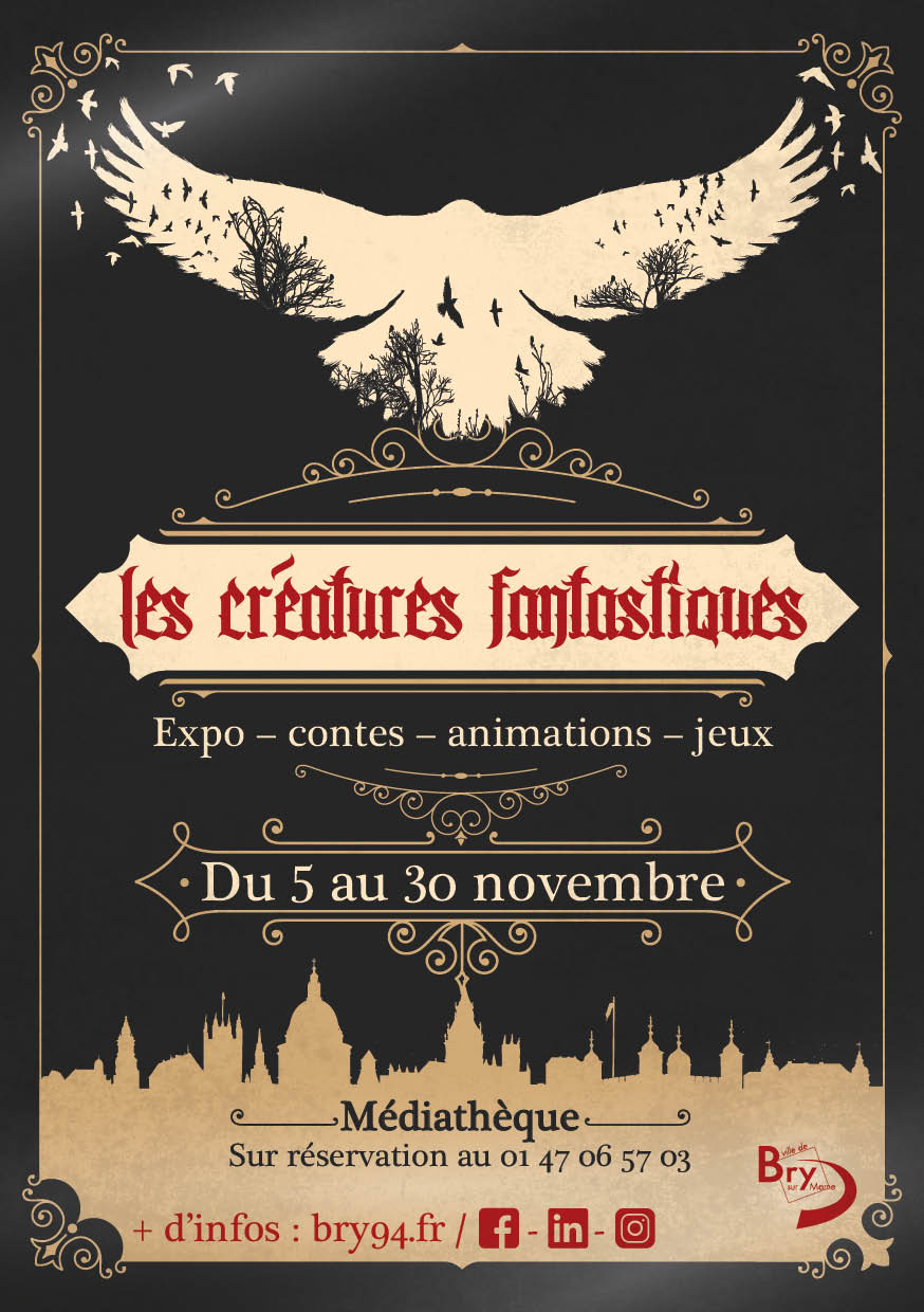 flyer creature fantastique P1